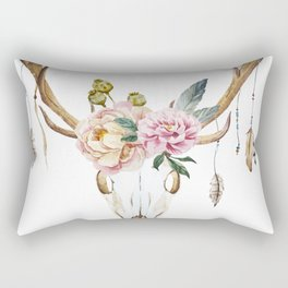 Animal Skull 09 Rectangular Pillow