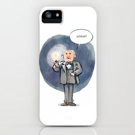 Thomas Edison - Lumos! iPhone Case