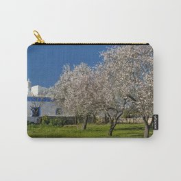 An Algarve almond orchard in Spring Carry-All Pouch