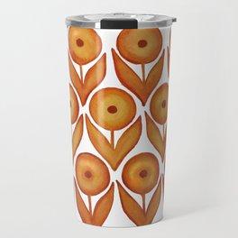 summer shandy in rusted orange Travel Mug