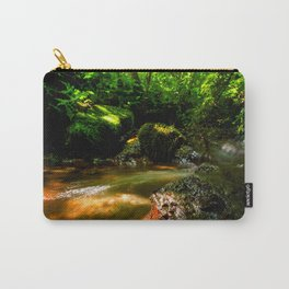 Fresh water source in the summer forest Carry-All Pouch