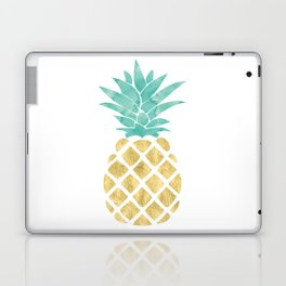 Gold Pineapple Laptop & iPad Skin