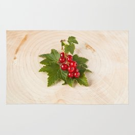 Red currants Rug