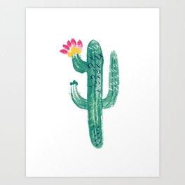 Cactus Cutie Art Print