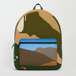 Big Sur Illustration Backpack