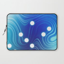 Blue Abstract Passion Laptop Sleeve