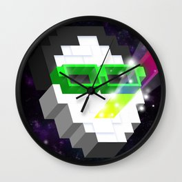 AutorreTracks - Inspired by Happy Up Here Wall Clock