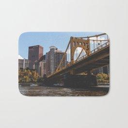 Bridges of Pittsburgh Bath Mat