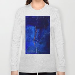 Into The Blue No.3a by Kathy Morton Stanion Long Sleeve T-shirt