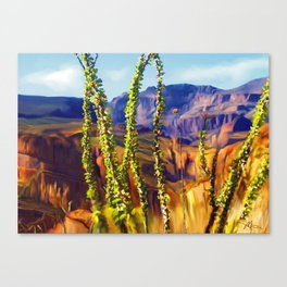 arizona superstition mountains Canvas Print
