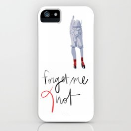 Forget me (K)not iPhone Case