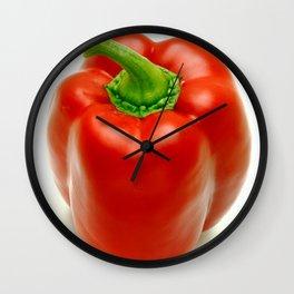 Sweet pepper Wall Clock
