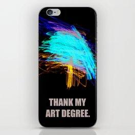 IM AN ARTIST MAMA iPhone Skin