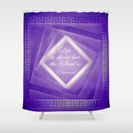 Life and Soul Shower Curtain