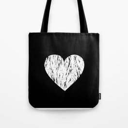 ghost paint heart Tote Bag