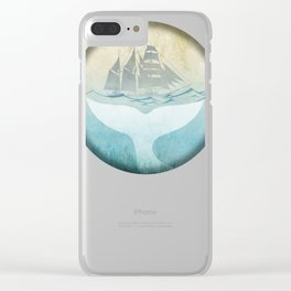 Moby Dick Clear iPhone Case