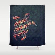 The Pattern Tortoise Shower Curtain