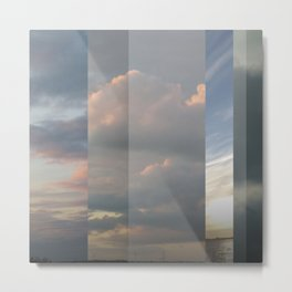 Northern Sky Fragments 7 Metal Print