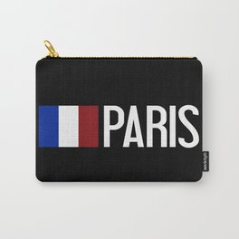 France: French Flag & Paris Carry-All Pouch
