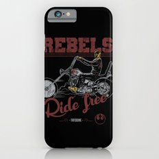 Ride free Rebels iPhone 6s Slim Case