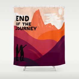 End of the journey Shower Curtain