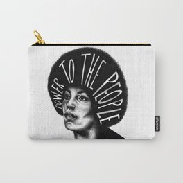 Power To The People Carry-All Pouch