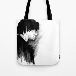 DARK COMEDIANS: Jim Carrey Tote Bag