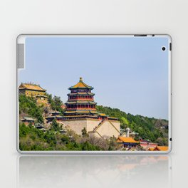 Tower of Buddhist Incense Laptop & iPad Skin