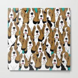 cute dogs Metal Print