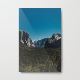 Tunnel View, Yosemite National Park II Metal Print