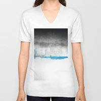 the strokes V-neck T-shirts featuring Strokes by Dhruv Seth