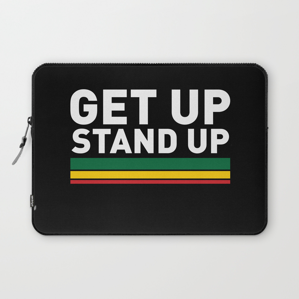 Get Up Stand Up / Rasta Vibrations Laptop Sleeve LSV8603350