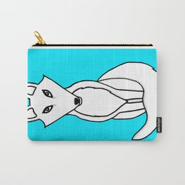 White Fox Carry-All Pouch