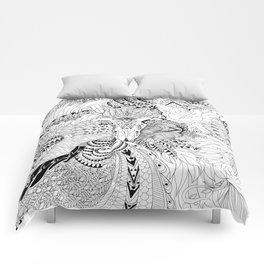 Ornate Pattern-large Comforters