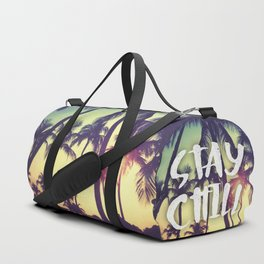 Stay Chill - Palm Trees Duffle Bag