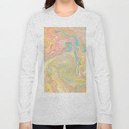 Summer Sherbet Marble Long Sleeve T-shirt