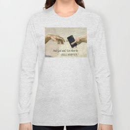 God's Gift - Cell Service Long Sleeve T-shirt