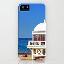 Blue iPhone Case