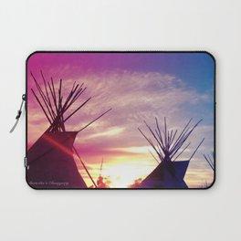 Sunset Tipi Laptop Sleeve