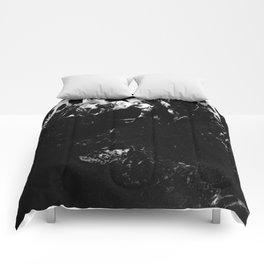 Black Marble #9 #decor #art #society6 Comforters