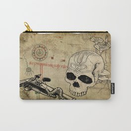 Skull Two Carry-All Pouch