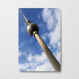 Berlin Fernsehturm Bild - Berlin TV Tower Metal Print