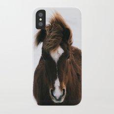 Snowy Horse Slim Case iPhone X