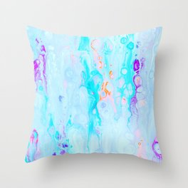 Candy Rush #abstract Throw Pillow