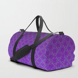 D20 Heathen Crit Pattern Premium Duffle Bag