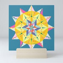 Sunshine Makes Me Happy Mini Art Print