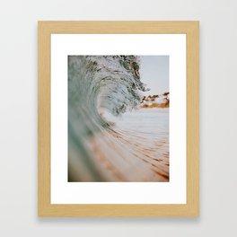 summer waves xiii Framed Art Print