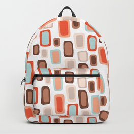 Retro Rectangles Backpack