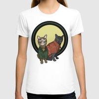 "daria T-shirts featuring Daria Meowgendorfer & Jane Felane by Christine ""Dangerfield"" Lyon"