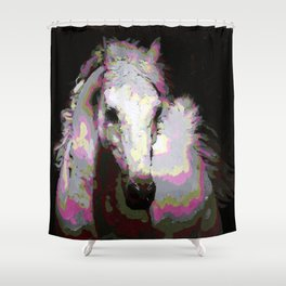 White Arabian Shower Curtain